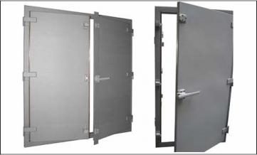 EMP/EMI shielded doors